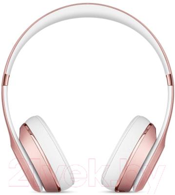 Наушники-гарнитура Beats Solo3 Wireless MNET2ZM/A (розовое золото)