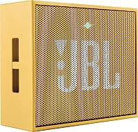 Портативная колонка JBL Go (желтый) -