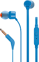 Наушники-гарнитура JBL T110 (синий) -