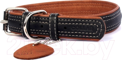 Ошейник Collar Soft 7210 (L, черный)