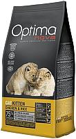 Корм для кошек Optimanova Kitten Chicken & Rice (8кг) -