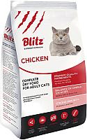 Корм для кошек Blitz Adult Cats Chicken (2кг) -