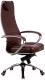 Кресло офисное Metta Samurai KL1 (коричневый) -