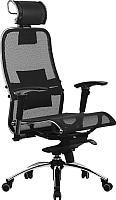 Кресло офисное Metta Samurai S-3 (черный) -