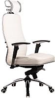 Кресло офисное Metta Samurai KL-3 (белый лебедь) -