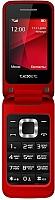 Мобильный телефон TeXet TM-304 (красный) -