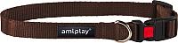 Ошейник Ami Play Basic AMI120 (L, коричневый) -