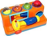 Развивающая игрушка Bradex Пим-Пам-Пум DE 0207 (оранжевый) -