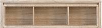 Шкаф навесной Black Red White Каспиан SFW1W/140 -