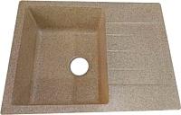 Мойка кухонная Granicom G-016-11 (кремовый) -