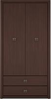 Шкаф Black Red White Коен SZF2D2S (венге магия) -