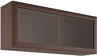 Шкаф навесной Black Red White Коен SFW1W/103 (венге магия) -