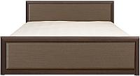 Каркас кровати Black Red White Коен LOZ140x200 (венге/штрокс темный) -