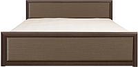 Каркас кровати Black Red White Коен LOZ160x200 (венге/штрокс темный) -
