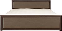 Каркас кровати Black Red White Коен LOZ180x200 (венге/штрокс темный) -