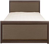 Каркас кровати Black Red White Коен LOZ90x200 (венге/штрокс темный) -