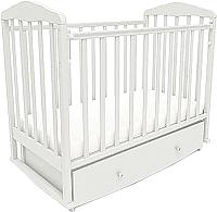 Кроватка СКВ 123001 (белый) -