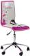 Кресло офисное Halmar Fun 1 (розовый) -