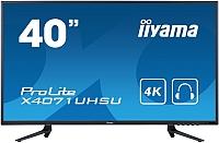 Монитор Iiyama ProLite X4071UHSU-B1 (черный) -