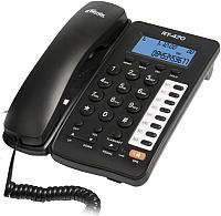 Проводной телефон Ritmix RT-470 (черный) -