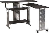 Компьютерный стол Signal B22 (мдф/металл черный) -