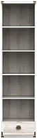 Шкаф-пенал Black Red White Индиана JREG 1so/50 (сосна каньон) -