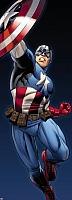 Фотообои Komar Captain America 1-431 (73x202) -