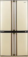 Холодильник с морозильником Sharp SJ-F95ST-BE -