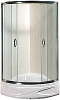 Душевой уголок Coliseum Classic Premium KS-618B 90x90 (тонированное стекло) -