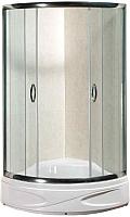 Душевой уголок Coliseum Classic Premium KS-618B 90x90 (прозрачное стекло) -