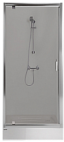 Стеклянная шторка для ванны Sanplast DJ/TX5b-90-S sbGY (с Glass Protect) -