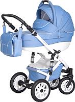Детская универсальная коляска Riko Essence 2 в 1 (07/sky blue) -