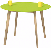 Обеденный стол Halmar Peppita (лайм) -