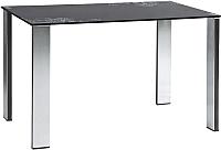Обеденный стол Седия Marta (хром/стекло) -
