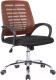 Кресло офисное Седия Ares (бордовый/черный) -