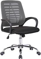 Кресло офисное Седия Ares (серый/черный) -