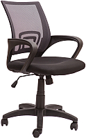 Кресло офисное Седия Ricci (серый/черный) -