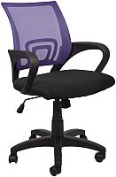 Кресло офисное Седия Ricci (фиолетовый/черный) -