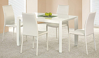 Обеденный стол Halmar Stanford (белый) -