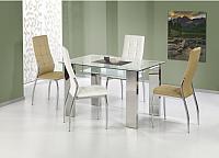 Обеденный стол Halmar Topaz (прозрачный) -