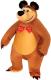 Мягкая игрушка СмолТойс Медведь-антистресс 2576/КЧ/43 (коричневый) -