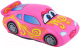 Мягкая игрушка СмолТойс Гоночная Машинка 2738/РЗ/23 (розовый) -