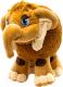 Мягкая игрушка СмолТойс Мамонтенок 1100/ШК (шоколадный) -