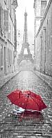 Фотообои GreenBerry Дождь в Париже 104 (103x270) -