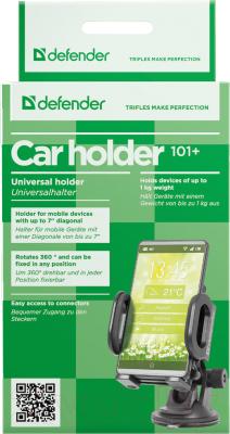 Держатель для портативных устройств Defender Car holder 101+ / 29101