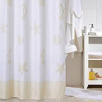 Текстильная шторка для ванной Milardo SCMI 060P -