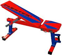 Скамья многофункциональная Flexter Оптима (красный/синий) -