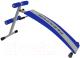 Скамья для пресса Flexter FLS 014A (синий/серебристый) -