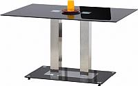 Обеденный стол Halmar Walter 2 (черный) -
