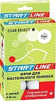 Мячи для настольного тенниса Start Line Club Select 1 23-121 -